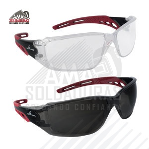 LENTES DE SEGURIDAD START LINE RED