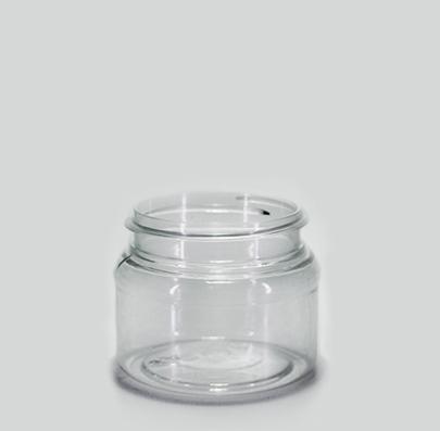 FRASCO CIL 150 ML  COLOR: CRISTAL Código: Capacidad:150 ml. Dimensiones:62.06 x 57.25 mm Corona:63 mm. Piezas por empaque:140