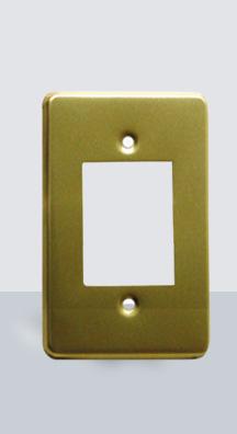 PL-AL-3 Placa Aluminio 3 Ventanas