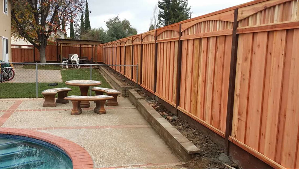 Custom-Designed Fence