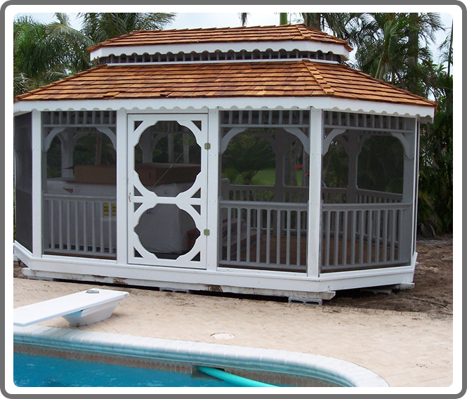 Customizable Gazebos Playhouses Montezuma Dog Kennels
