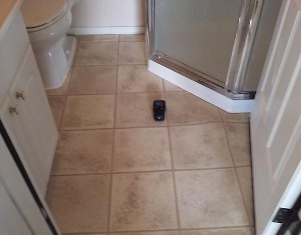 Bathroom Moisture Test