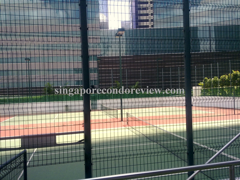 Sail has tennis courts in the cbd!