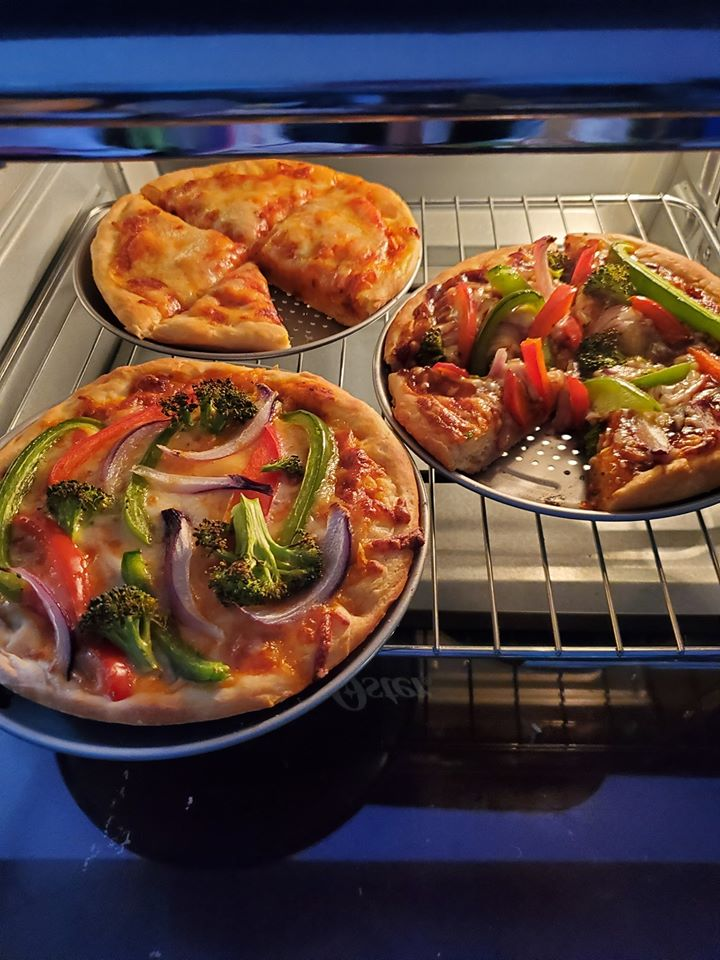 Freshly Baked Pizza 1