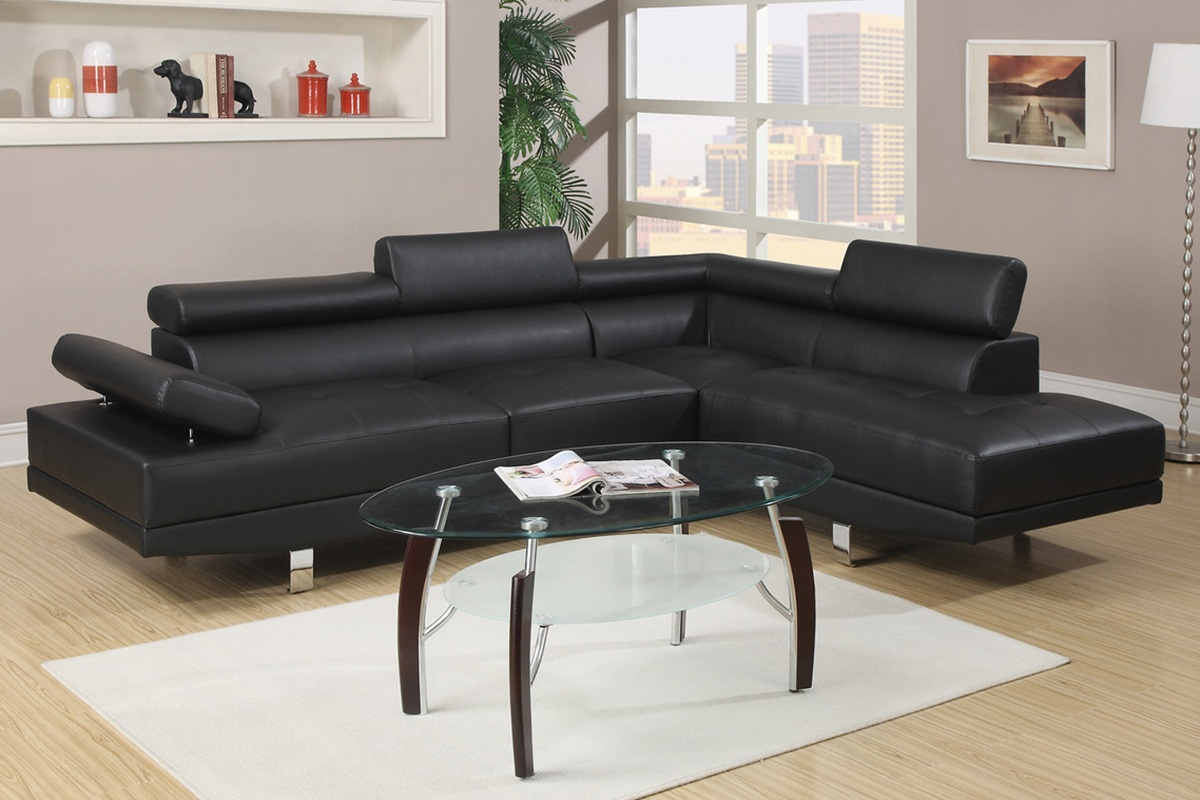 (F7310) Estro Sectional Available In Multiple Colors