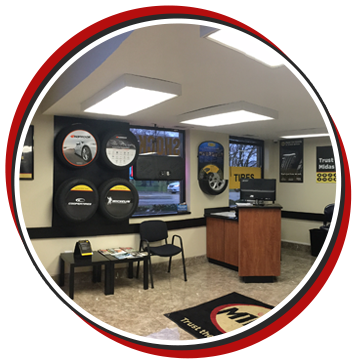 Auto Repair Shop Reception Area