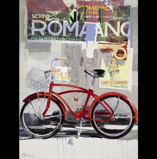 Roma 30x40 mixed media on canvas