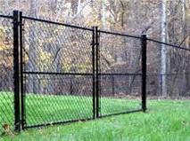 Black Fence 1