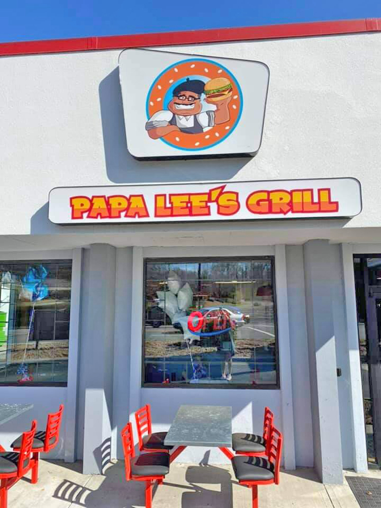 Papa Lee's Grill Outside Seating