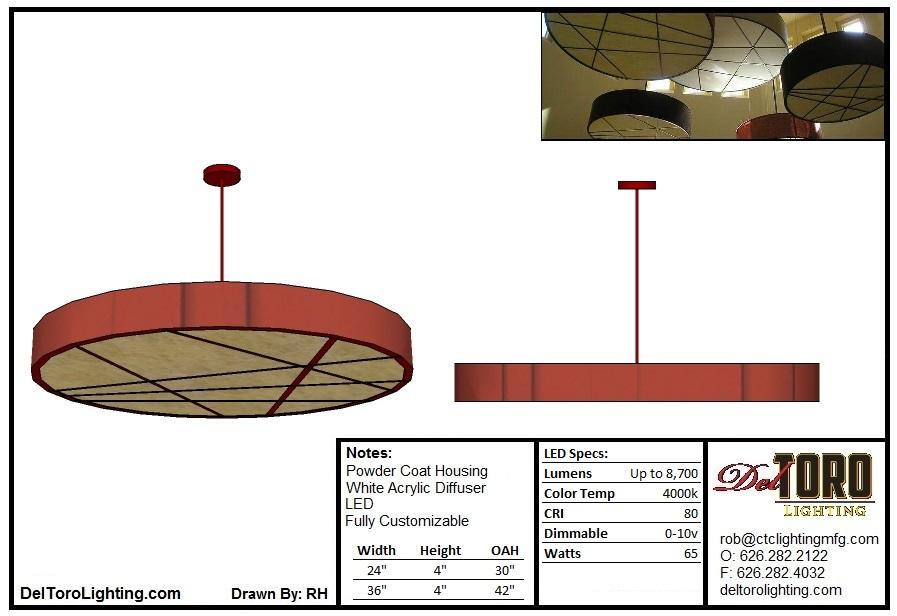 001P Disc Pendant