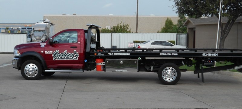Flat Bed Tow Truck||||