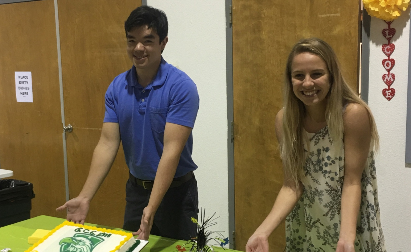 Congrats to our seniors, Matthew Chung and Alyssa Riveira! We are so proud of you!