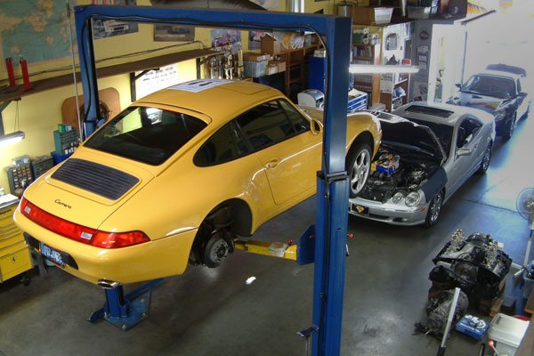 Vehicles in Repair Facility 2