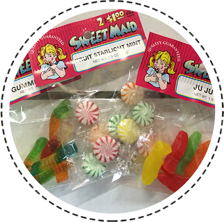 Gummy Candies and Mints