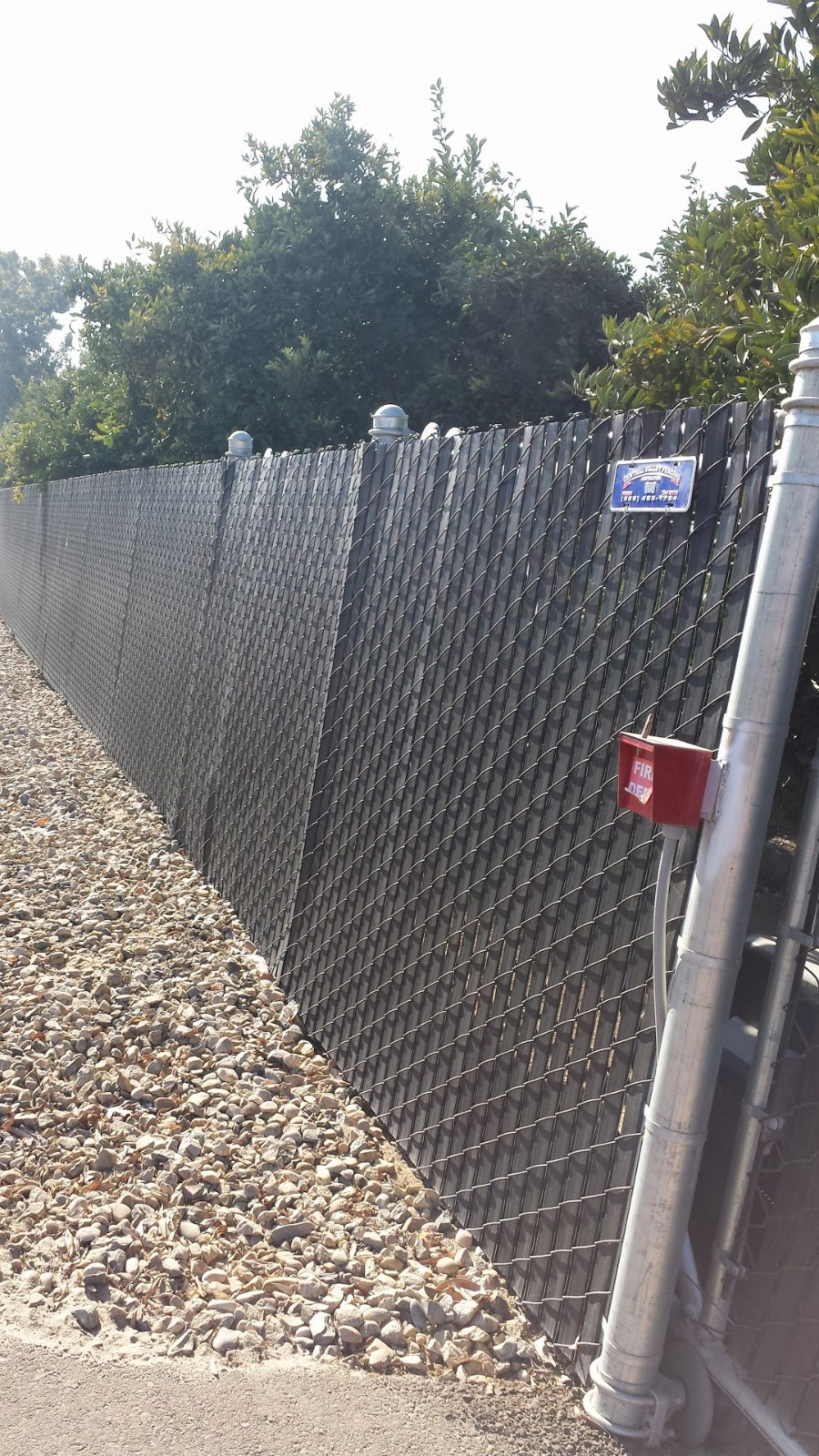 Privacy Chain-Link Fencing Solution