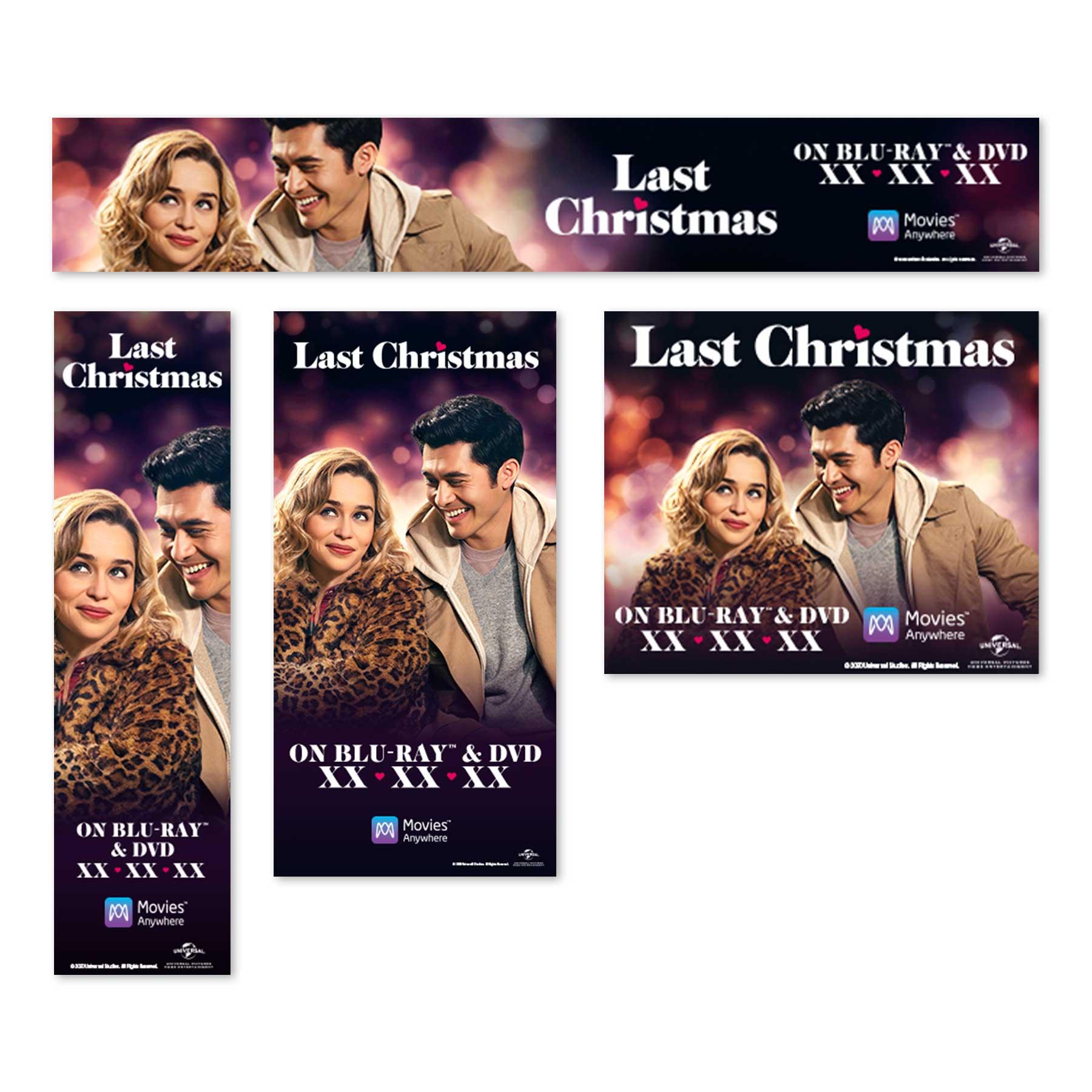 Last Christmas Digital Banners