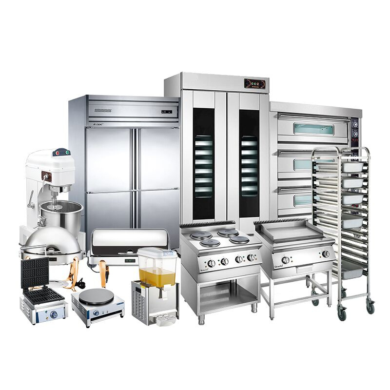 Large and Small Kitchen Equipment