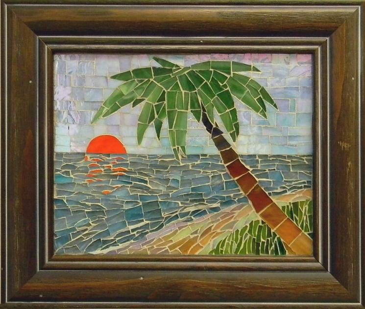 """Florida"" by Nataliya Guchenia Glass Size - 8""H X 10""W $200.00"