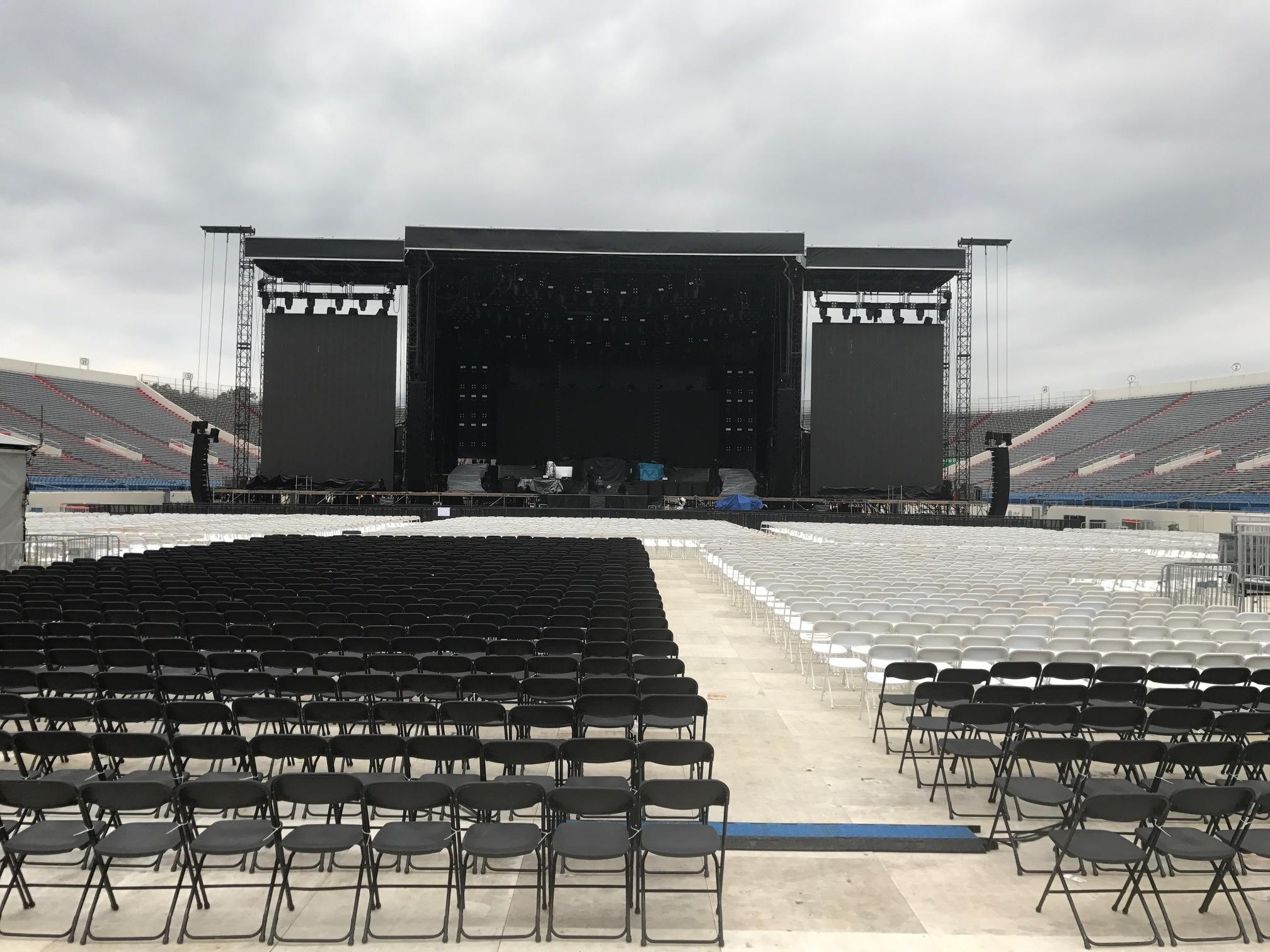 Event Venue Before Concert
