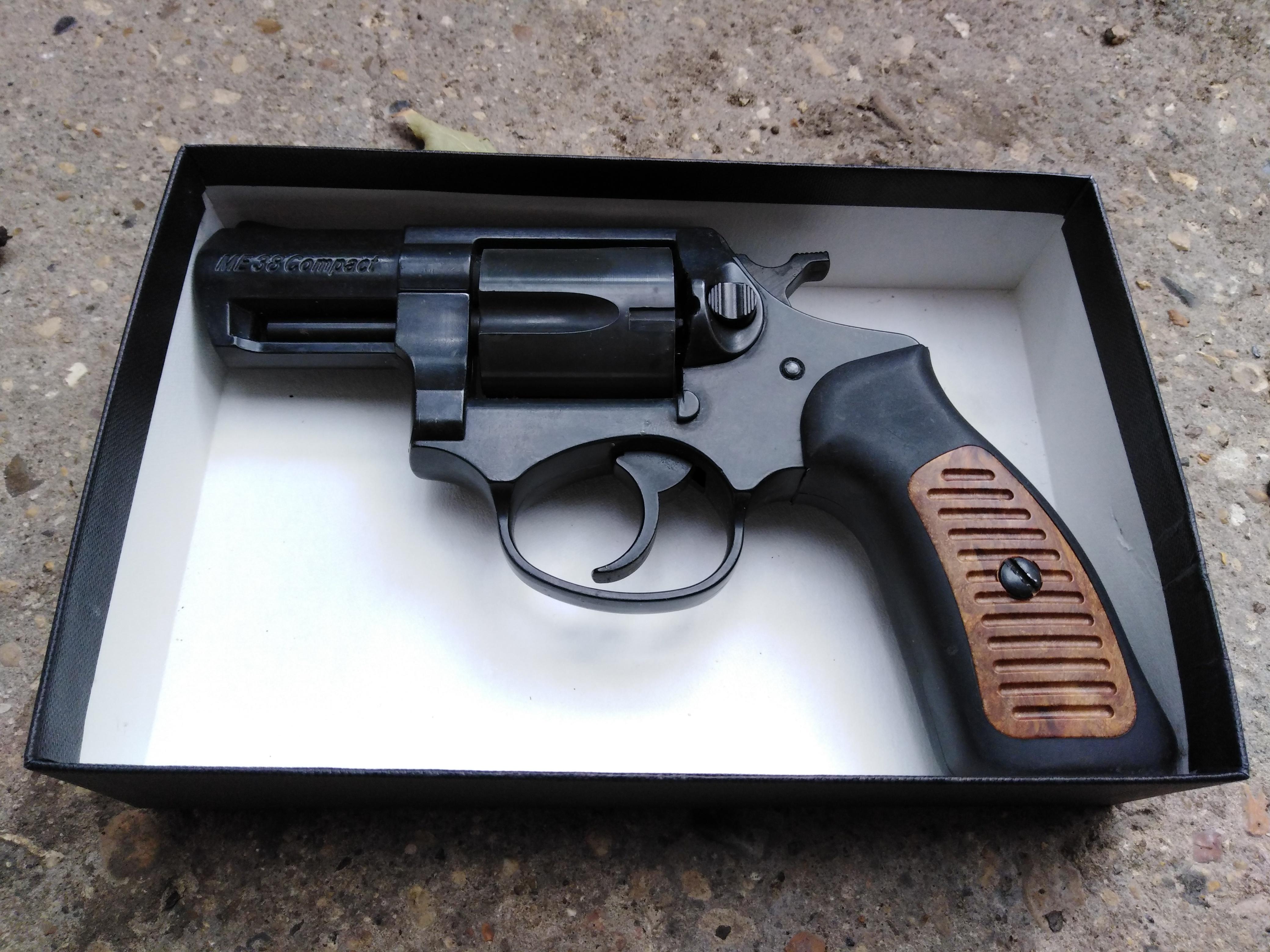 ME38 9mm Blank Snubnose