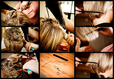 Professional hair styling||||