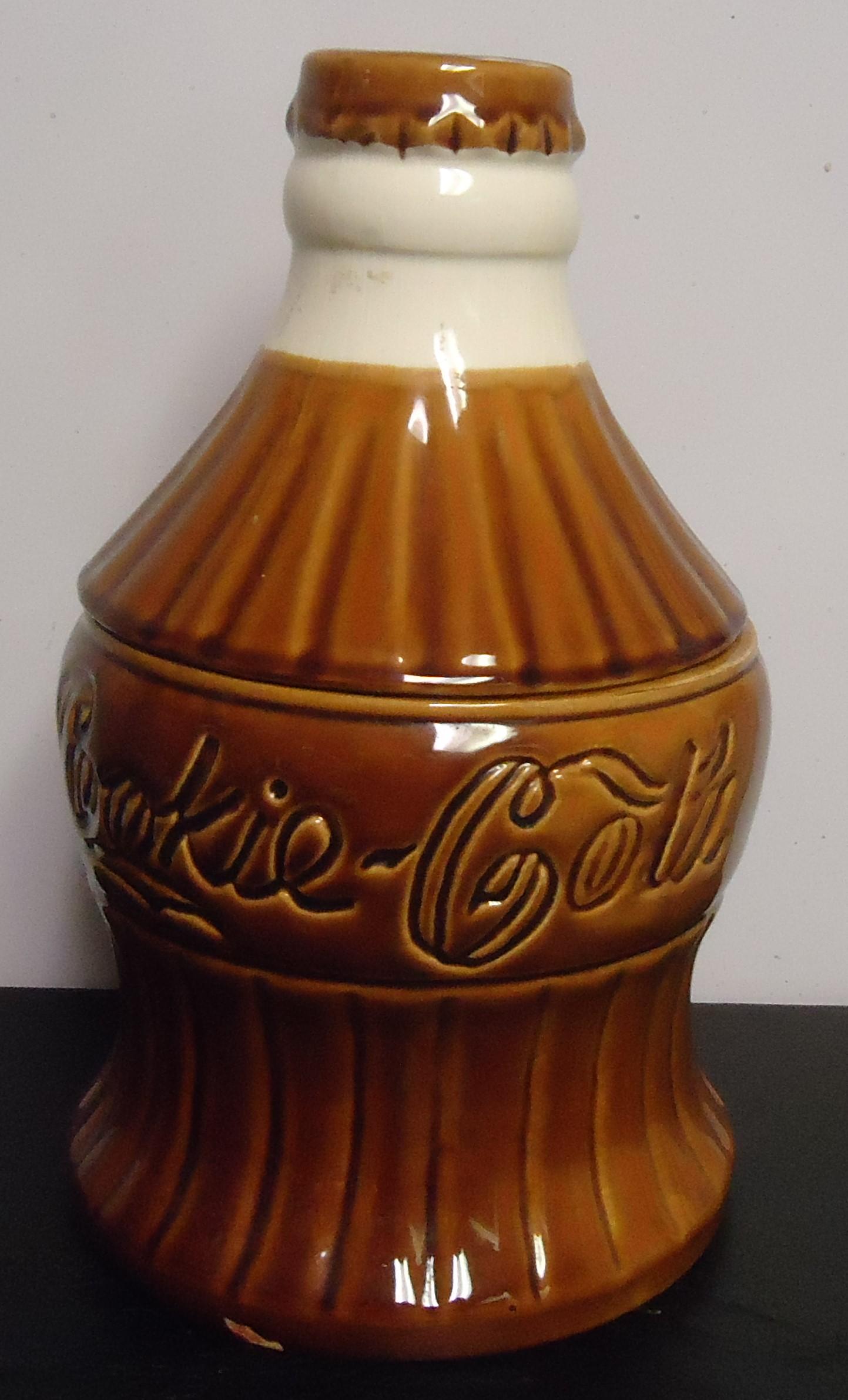 "(6) ""Coke"" Cookie Jar $60.00"