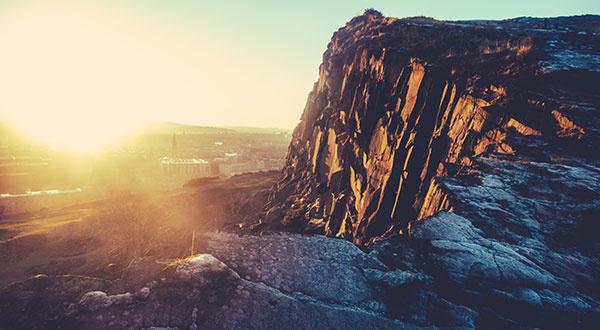 Edinburgh Winter Sunset