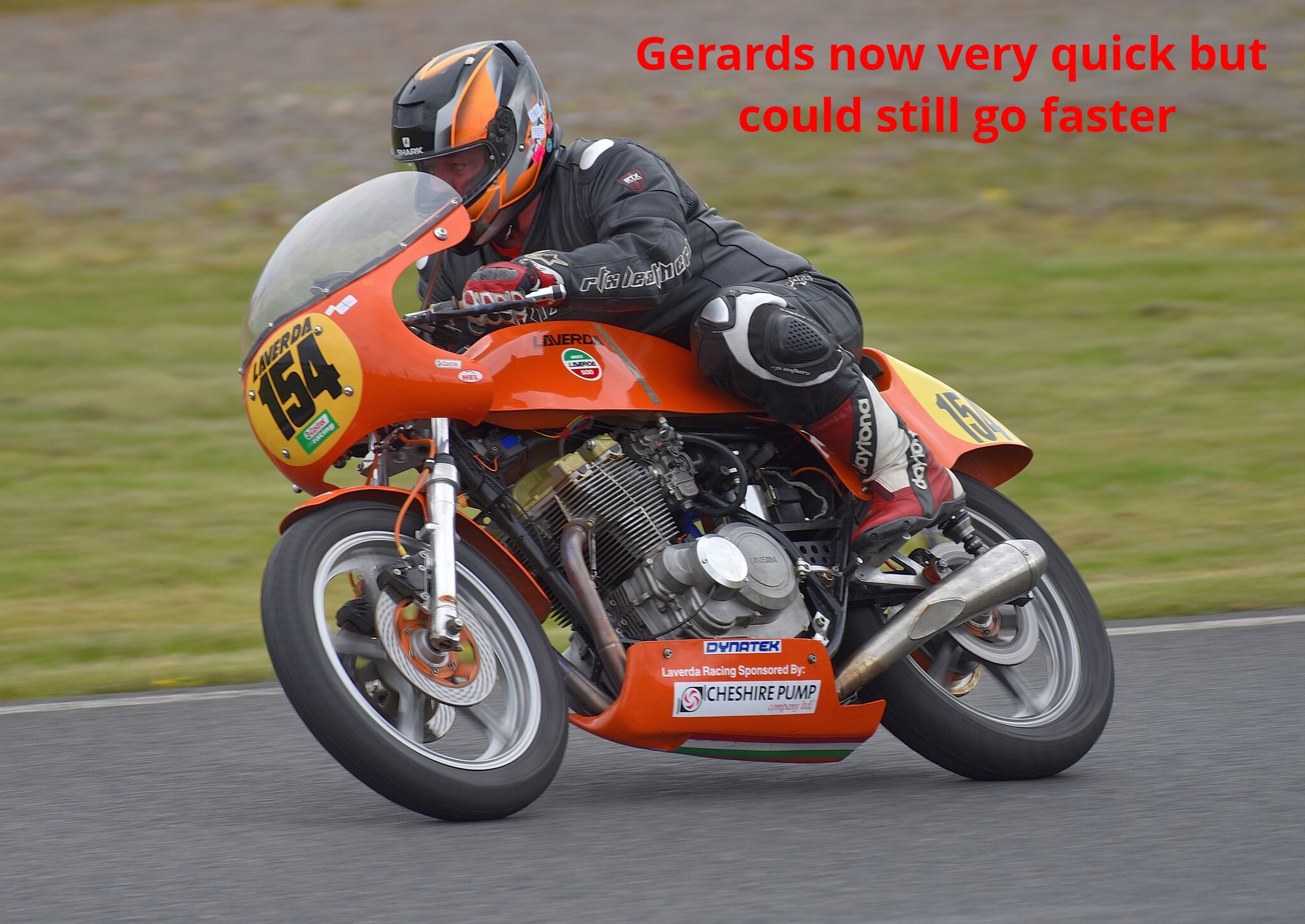 Gerards on the gas