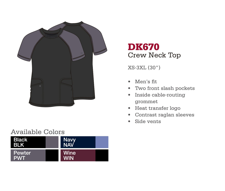 Cuello Redondo. DK670.