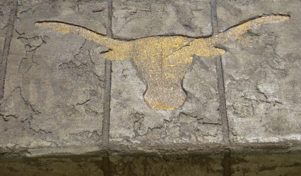 Engraved Concrete Design