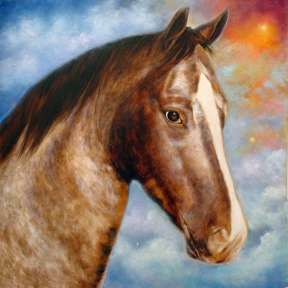 """Molly Commissioned 20"""" x 20"""" oil on canvas SOLD"""
