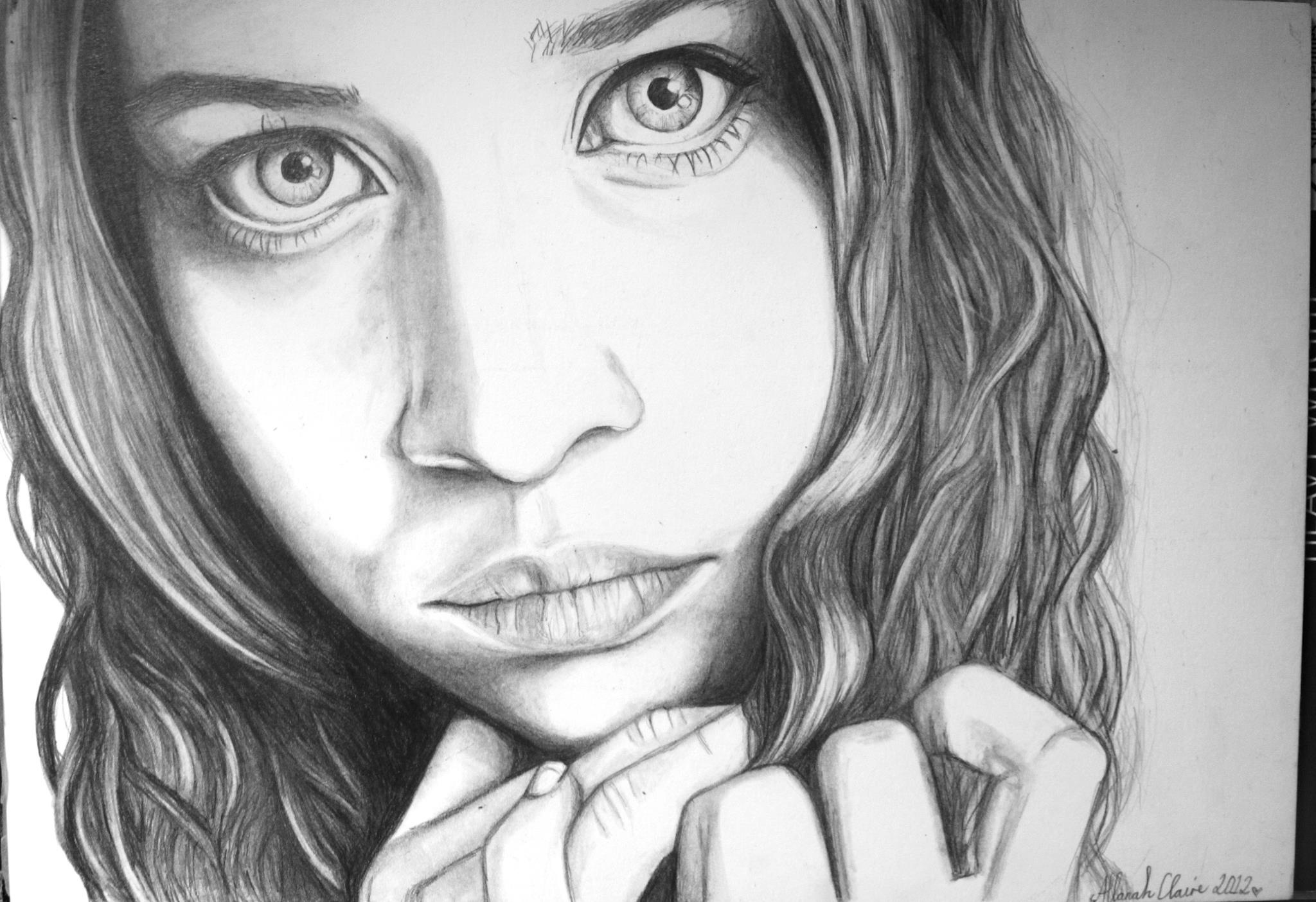 Fiona Apple, graphite, 2012.