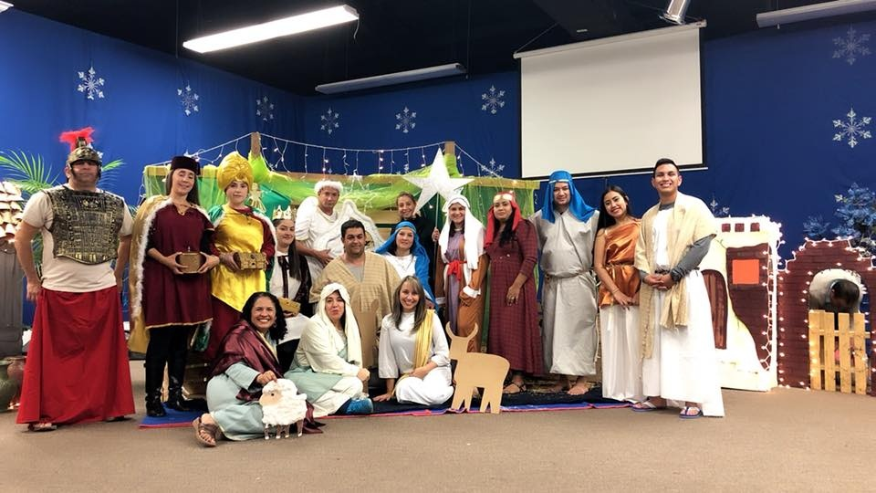 Cast of Christian Play