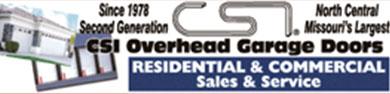Garage Sales and Installation Ad