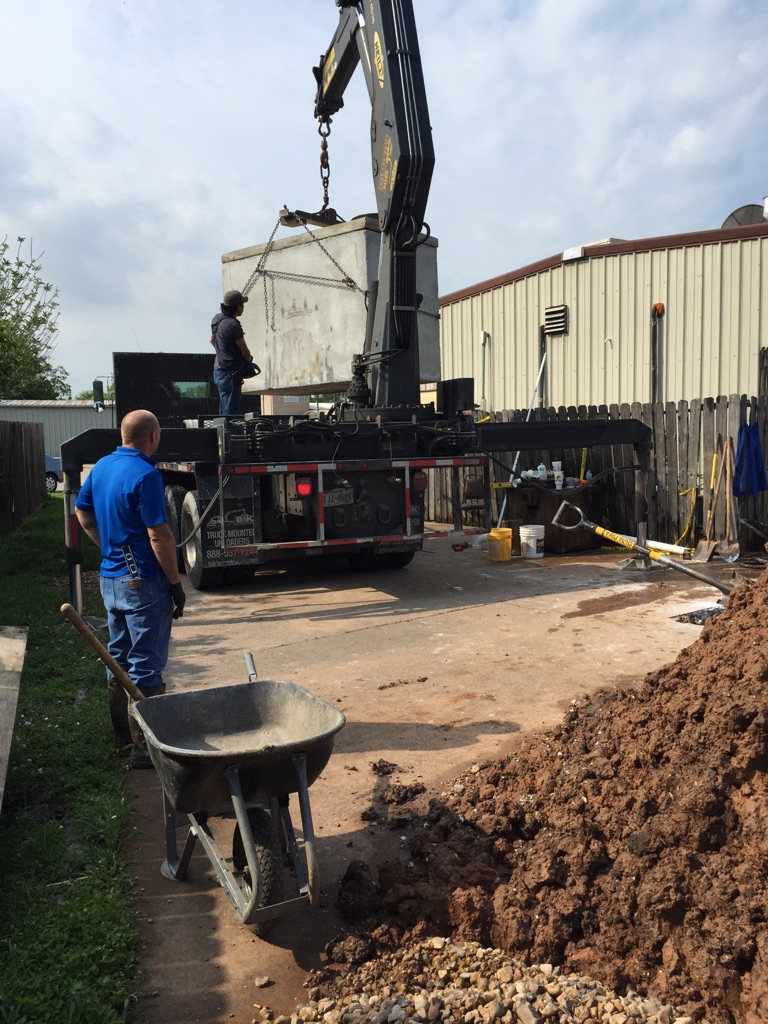 New Grease Trap Installation