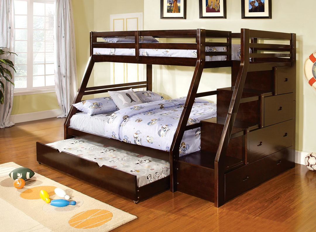 Wooddridge Bunk Bed (P.O CM-BK612)