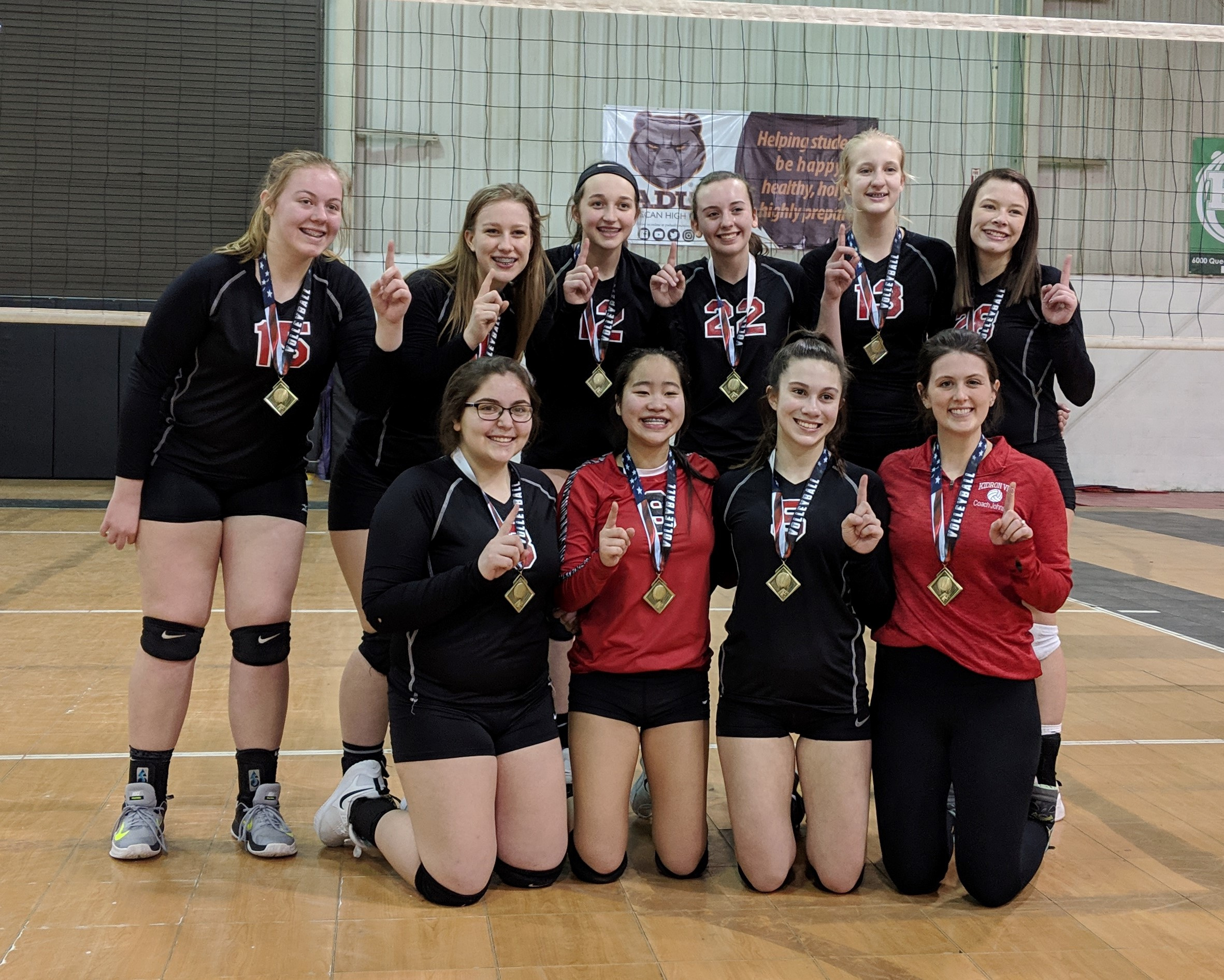 Mar 23, 2019 - Johnson 15R - GOLD Champs - OhioNets