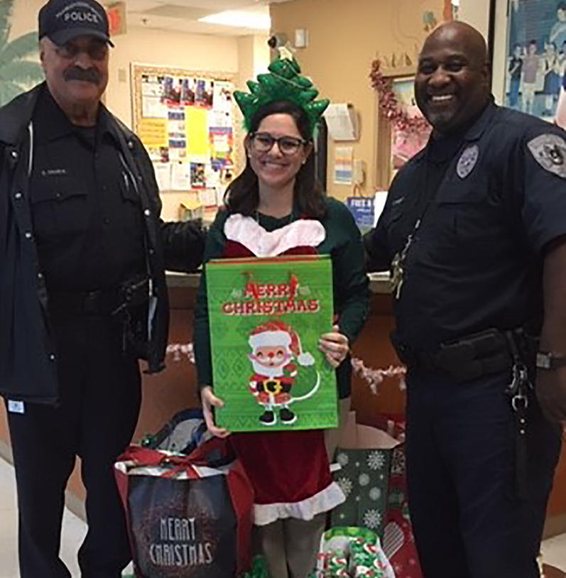 2019 Belvedere Elementary School Christmas Delivery