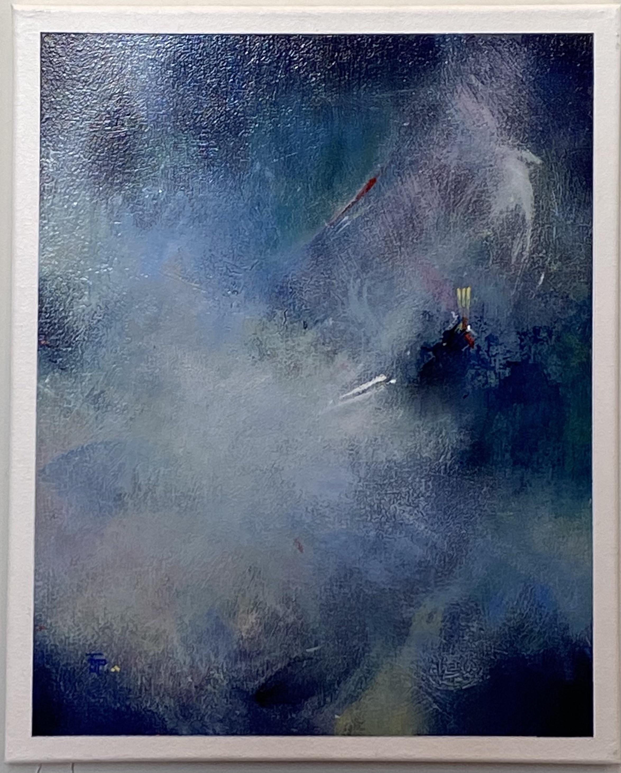 "Abstract Acrylic 16"" X 20"" $145."