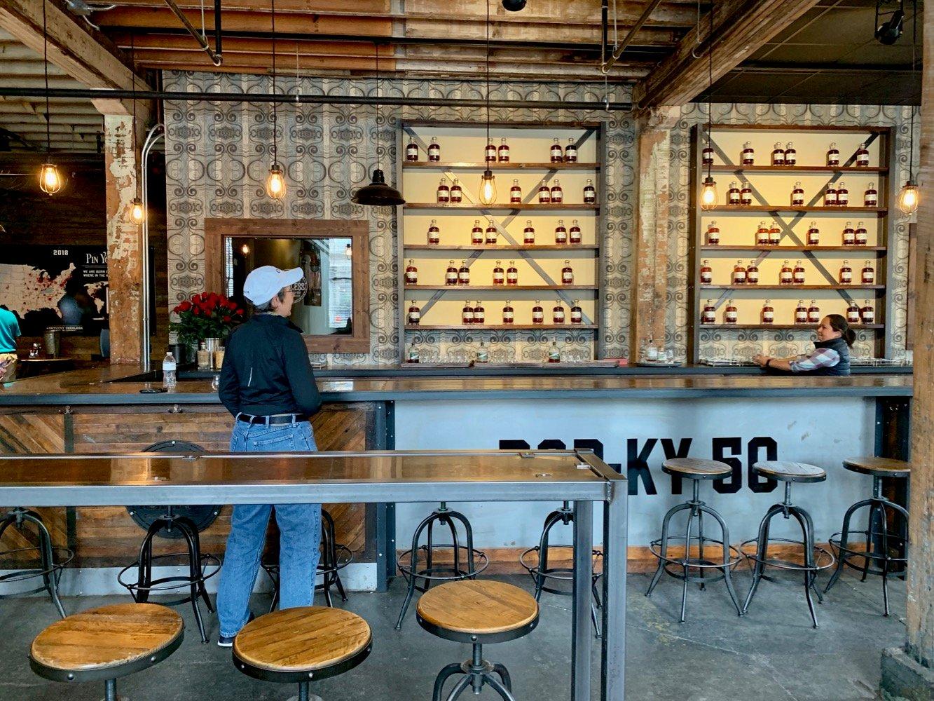 Kentucky Peerless Distilling - Sampling Bar