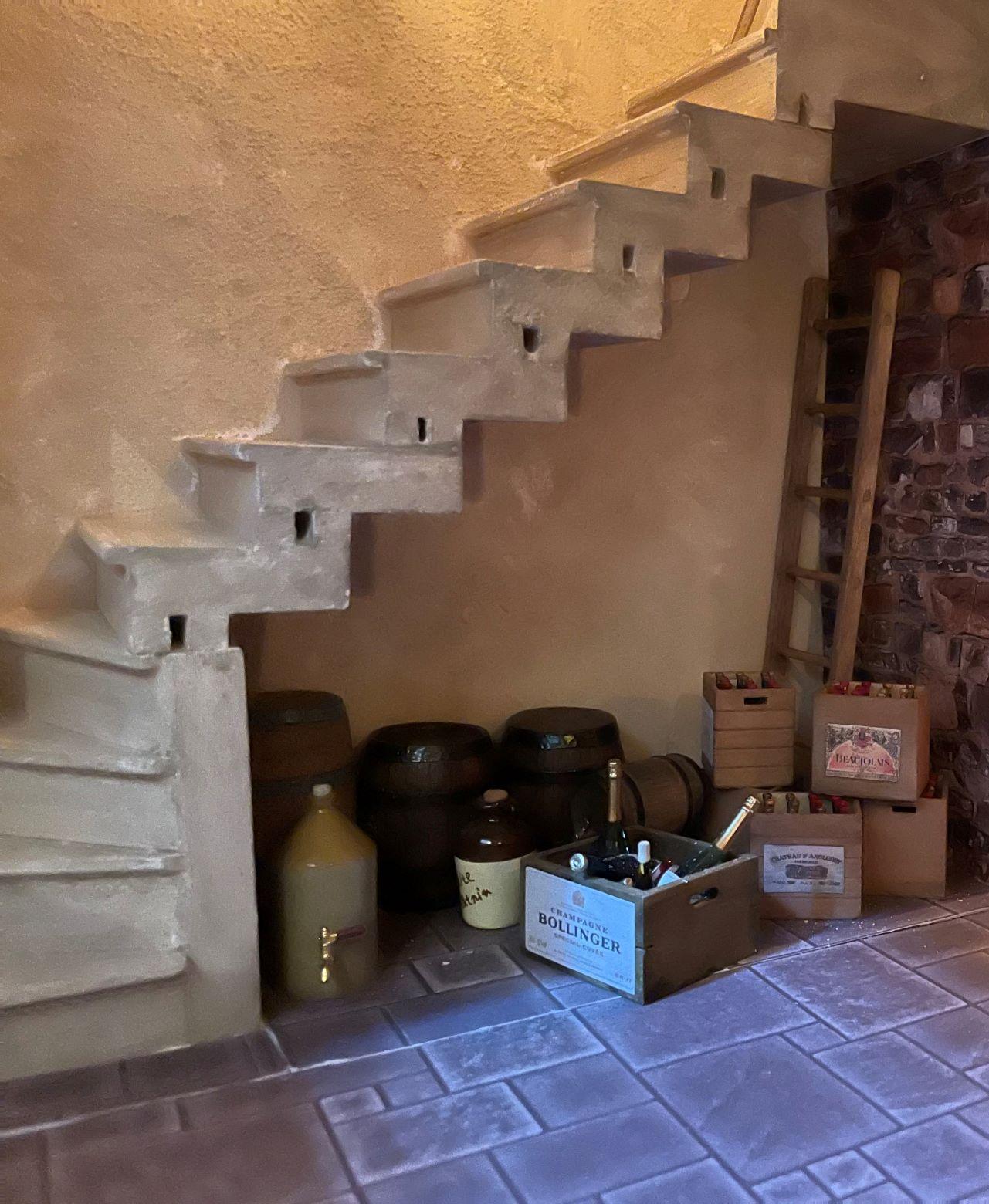Wine Cellar Steps