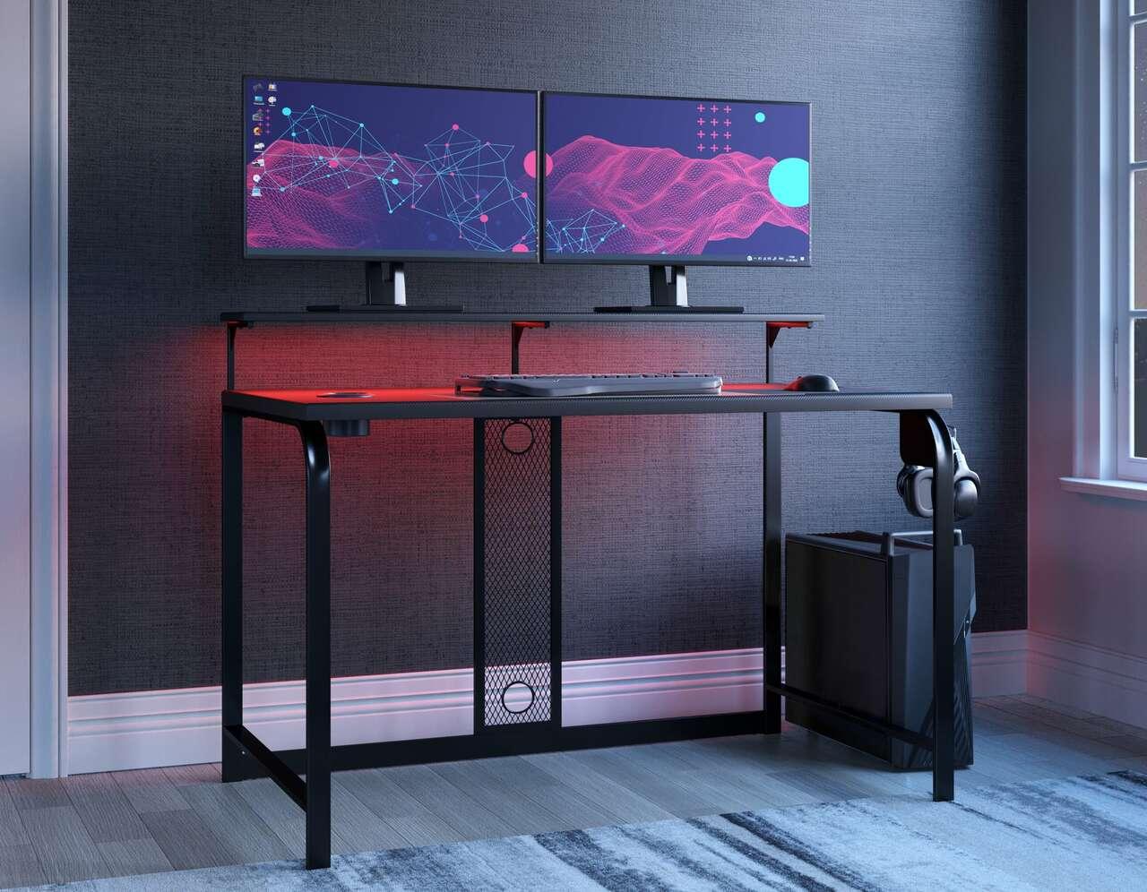 H400-110 lynxtyn work smarter desk by ashley