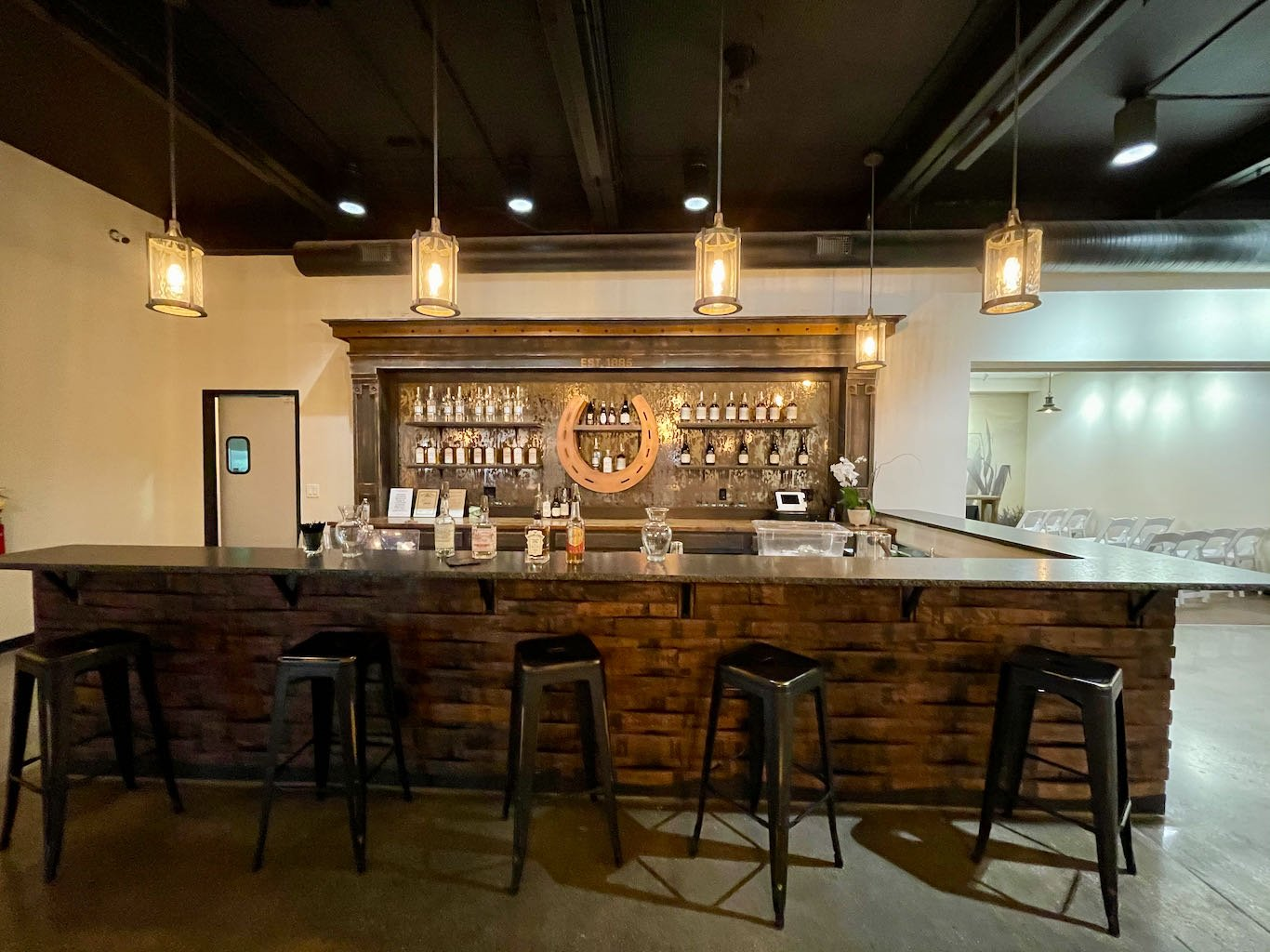 Cocktail Bar in Visitor Center - Green River Distilling Co