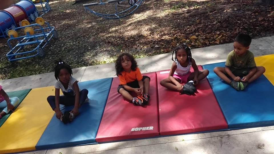 Yoga at Put Them First Academy