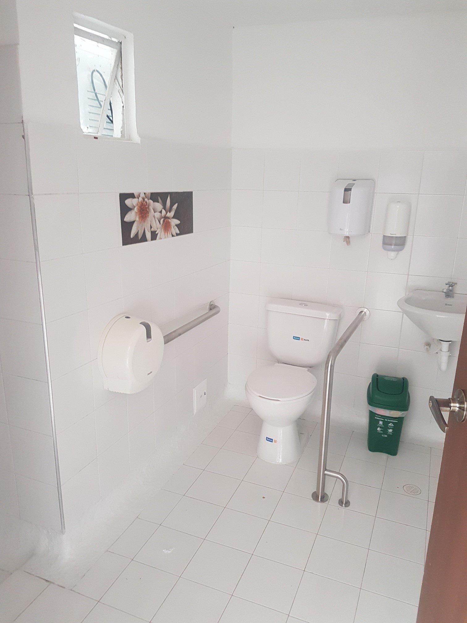Baños espaciosos y confortables