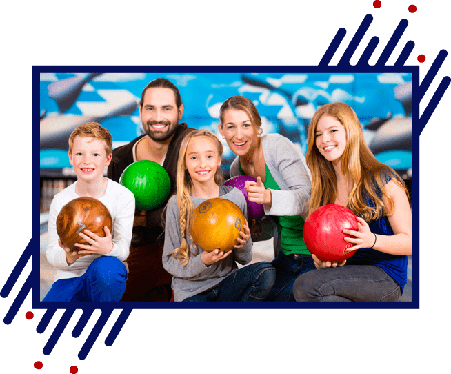 Family at Bowling