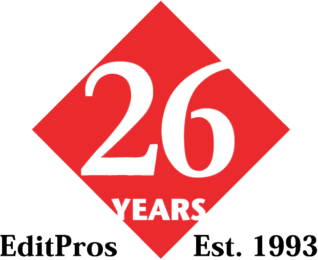 EditPros 26-year emblem