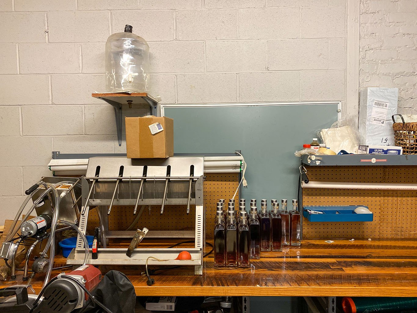 Bottling Line -Bluegrass Distillers