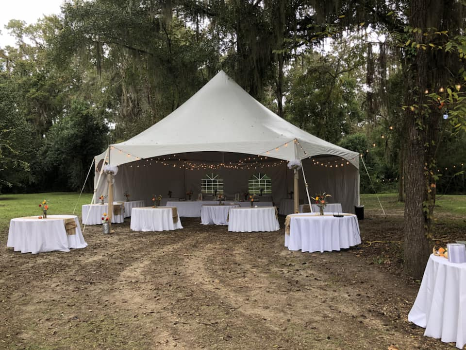 Event With Pop Up Tents