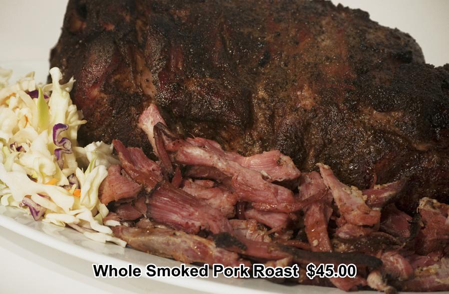 Whole Smoked Pork Roast 2015